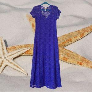 TOMMY BAHAMA S Crochet Beach Maxi Dress